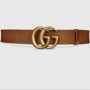Gucci Leather belt with Double G buckle 90/36